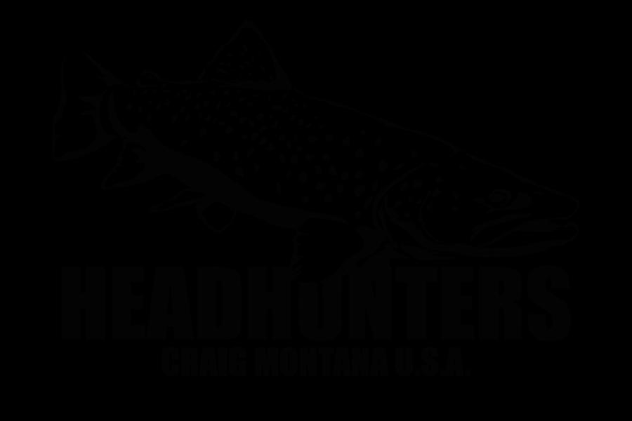 Headhunters Lunker Logo Black