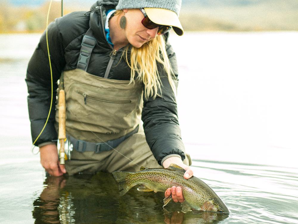 Beth Hood Fishing