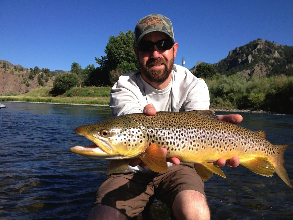 Fly fishing employment headhunters fly shop on the for Trout fishing in missouri