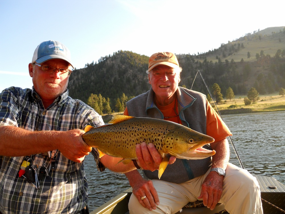Land fo the Giants Brown Trout