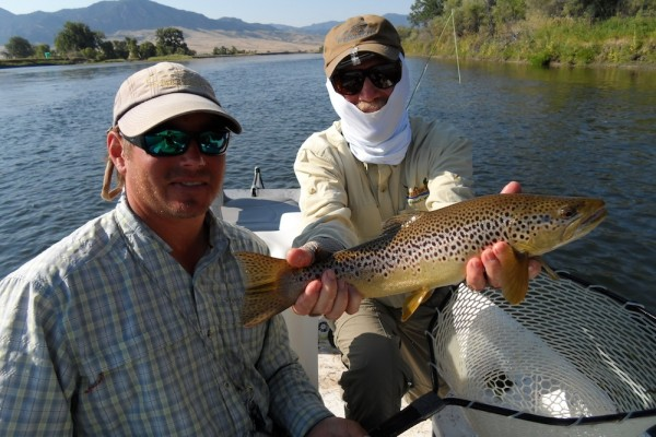 Missouri River hopper fishing.