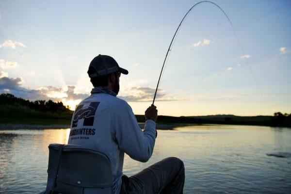 Evening Fishing Montana
