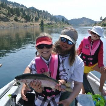 Kids Fly Fishing Montana