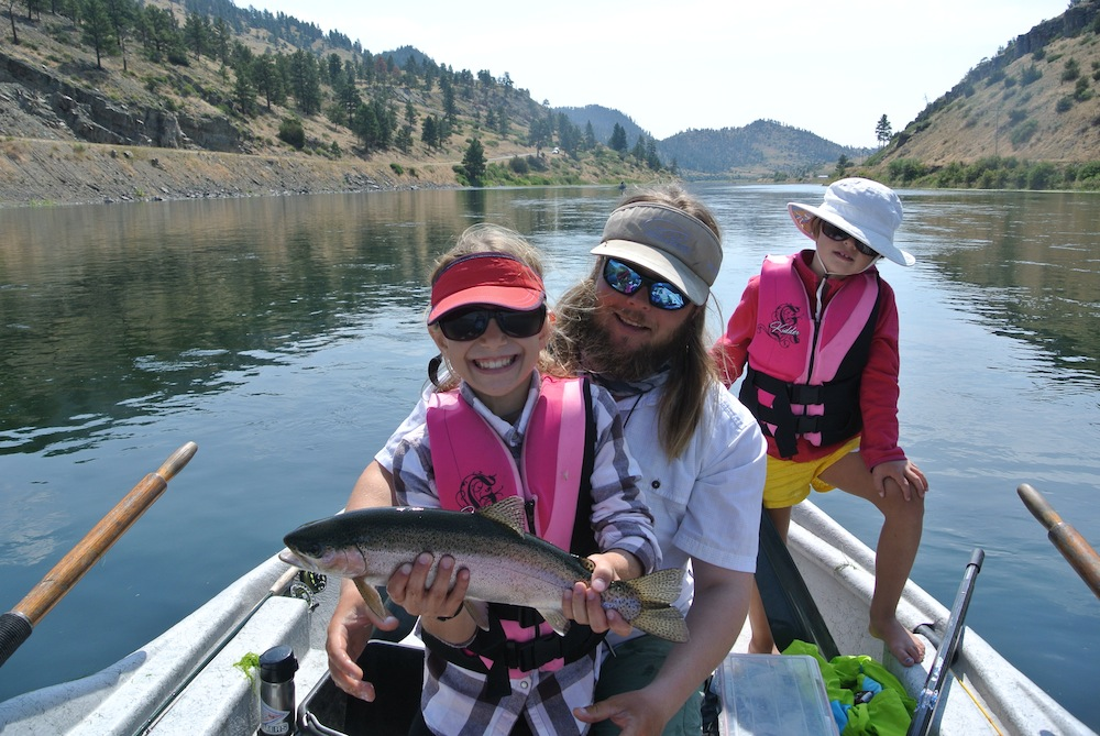 Kids Fly Fishing Montana