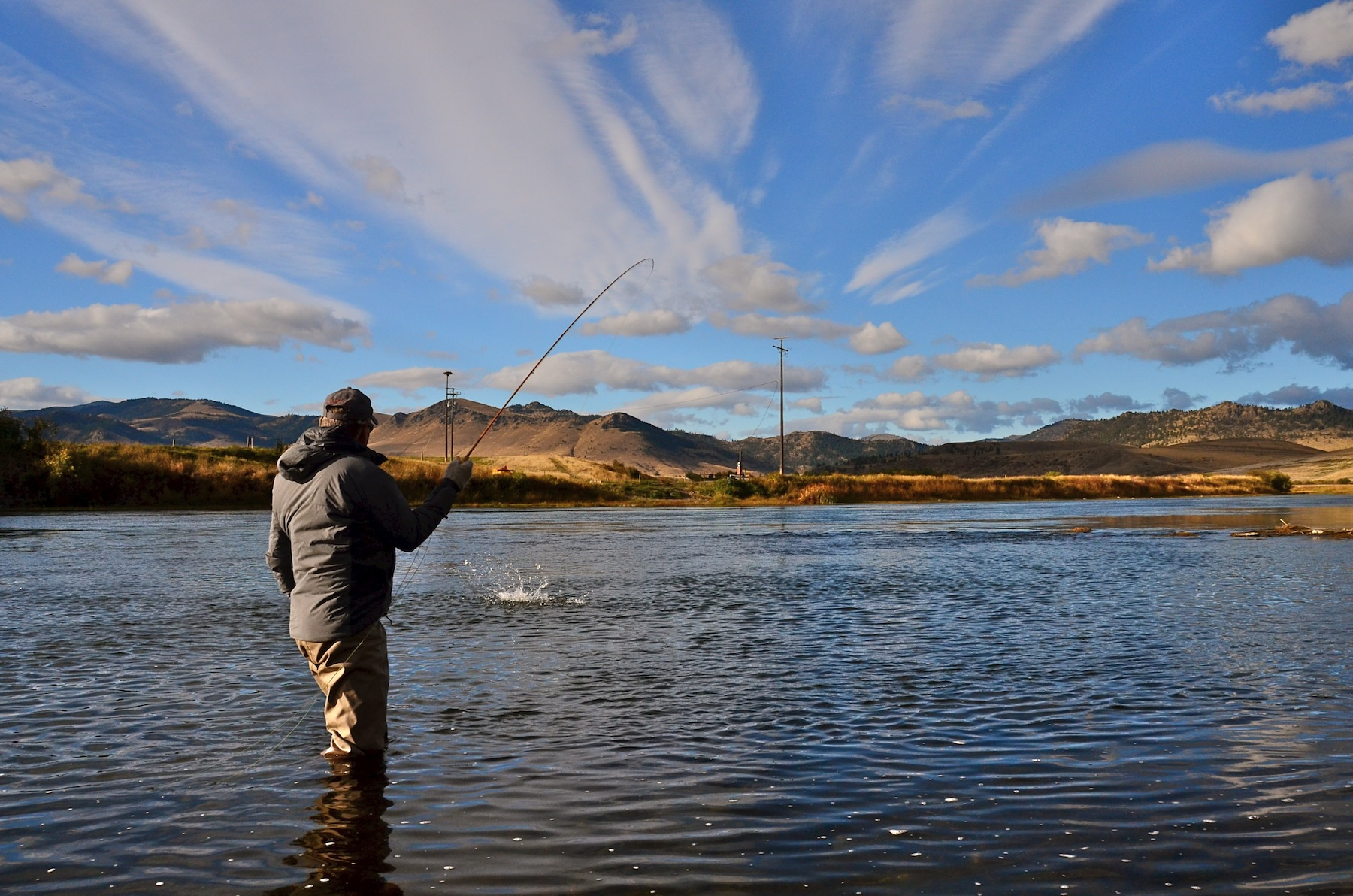 Missouri river fly fishing report montana for Missouri river fishing report south dakota