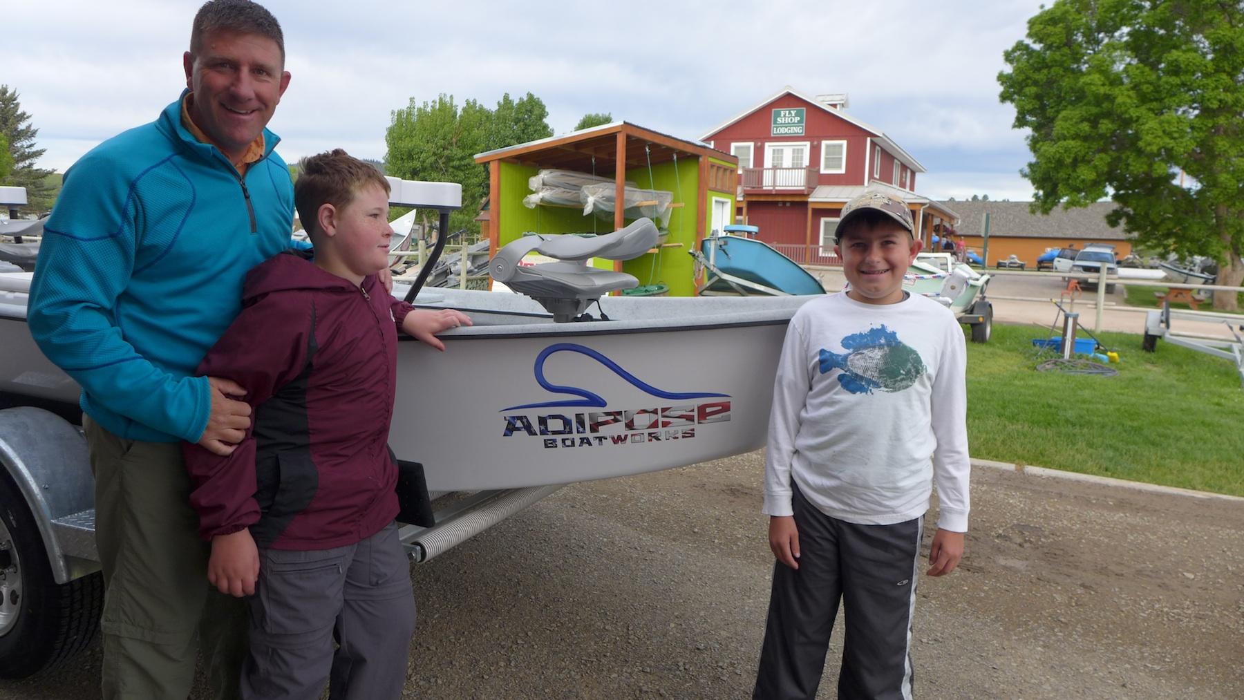 Take a kid fishing headhunters fly shop for Take a kid fishing