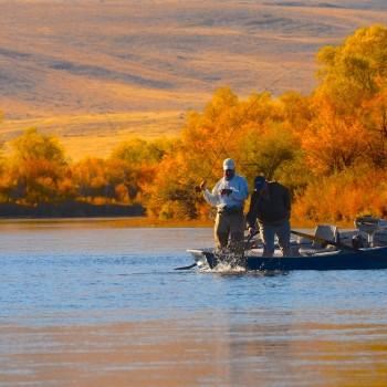 Missouri River Scenery Image
