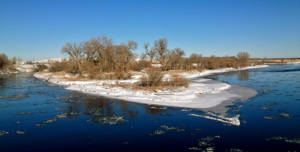Missouri River Winter Fishing Report