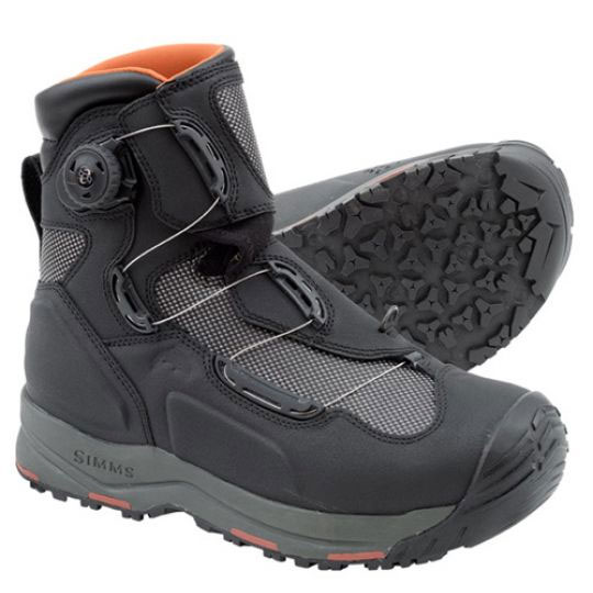 Simms wading boots 2 to consider headhunters fly shop for Fly fishing wading boots