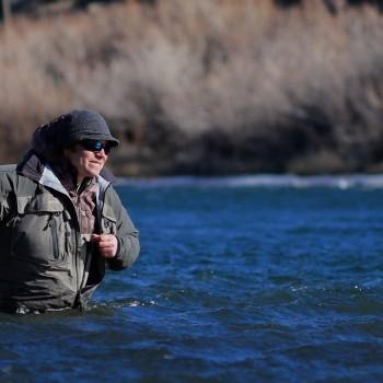 Missouri River wind fishing
