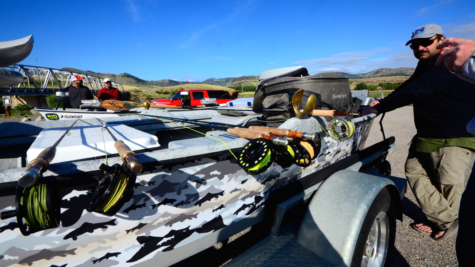 Headhunters Weekend Fishing Report Missouri River Montana