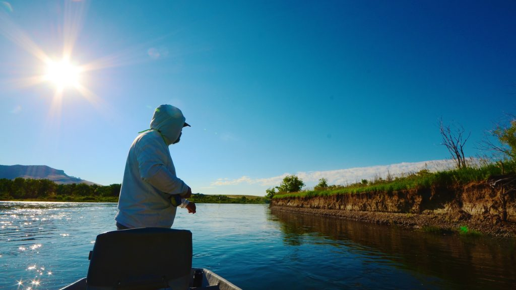 Top 5 july missouri river fly fishing tips headhunters for River fishing tips