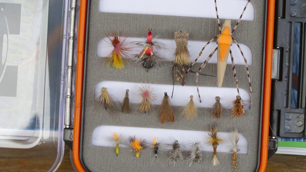 Late July Missouri River Hot Flies