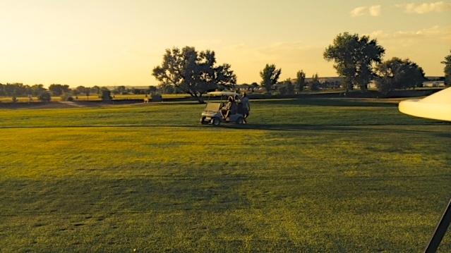 Dewey, Ben, and Peter Go Golfing