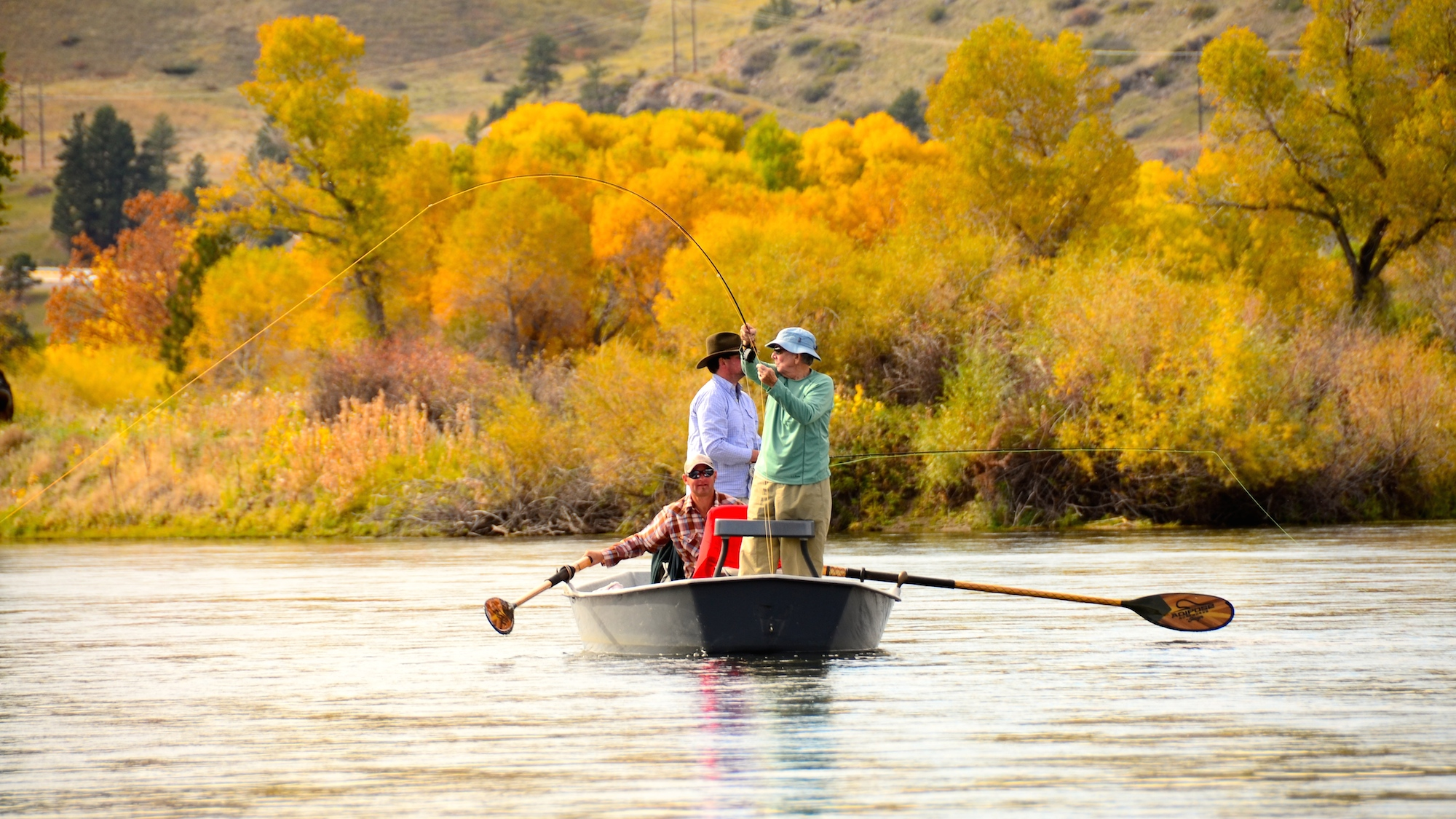 A few missouri river october fly fishing tips for Fishing in missouri