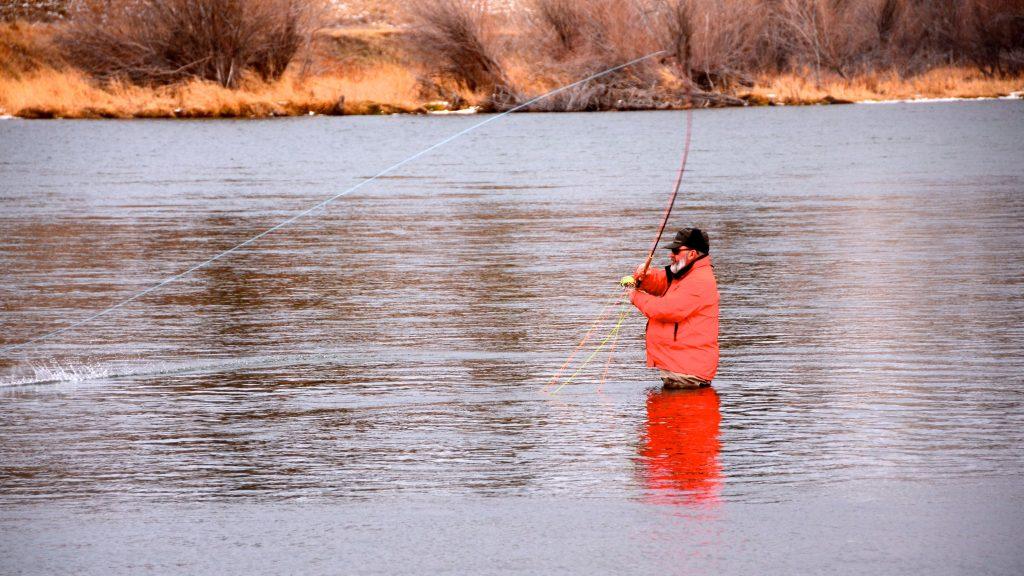 Missouri river winter solstice fishing report for Missouri fishing report