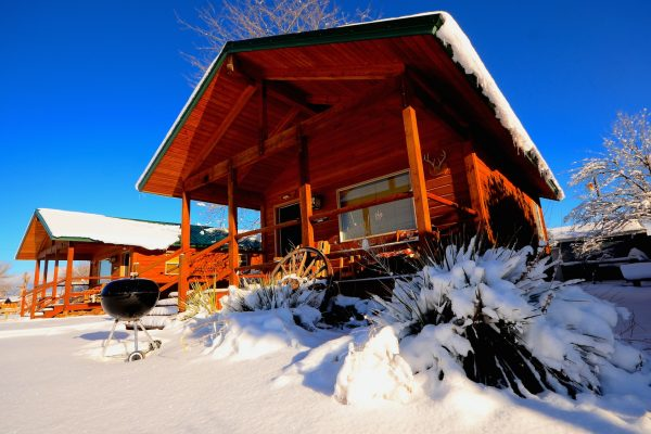 Winter Lodging Craig Trout Camp Montana