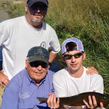 3 Generations of Missouri River Anglers