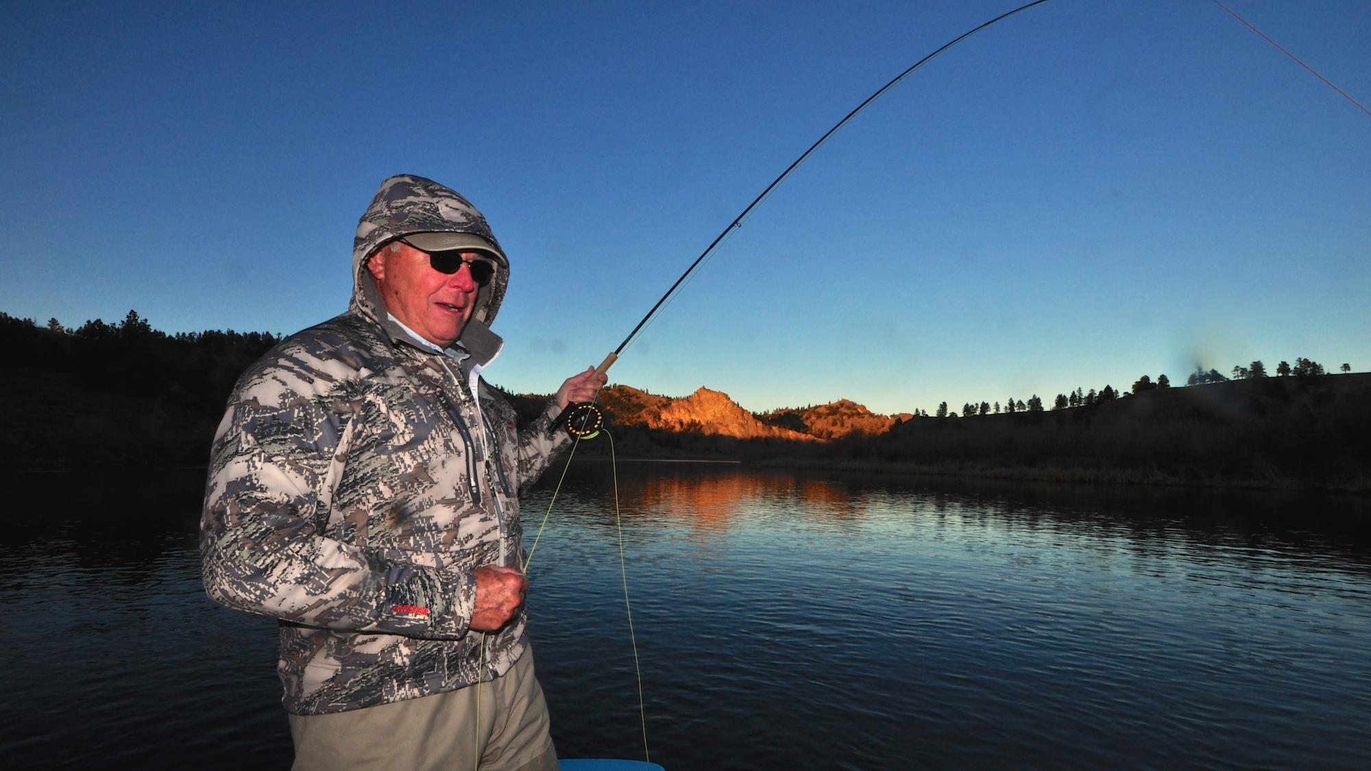 Missouri river montana fishing report 2 headhunters for Missouri river fishing