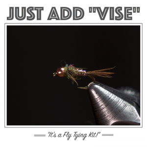Lightning Bug Fly Tying Kit