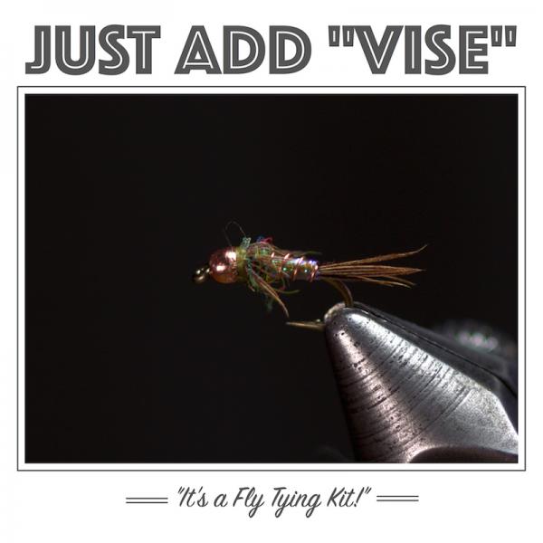 Lightning Bug Fly Tying Kit