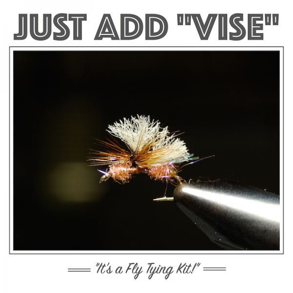 UV Para Ant fly tying kit
