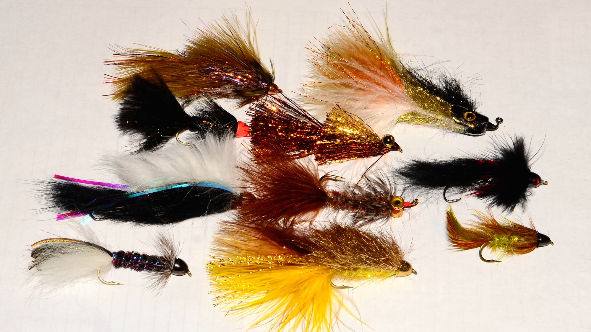 Missouri River March Streamer Patterns W A Side Of Streamer Line Discussion Headhunters Fly Shop