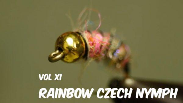 Fly Tying Night in America w/ Rainbow Czech JAV Video