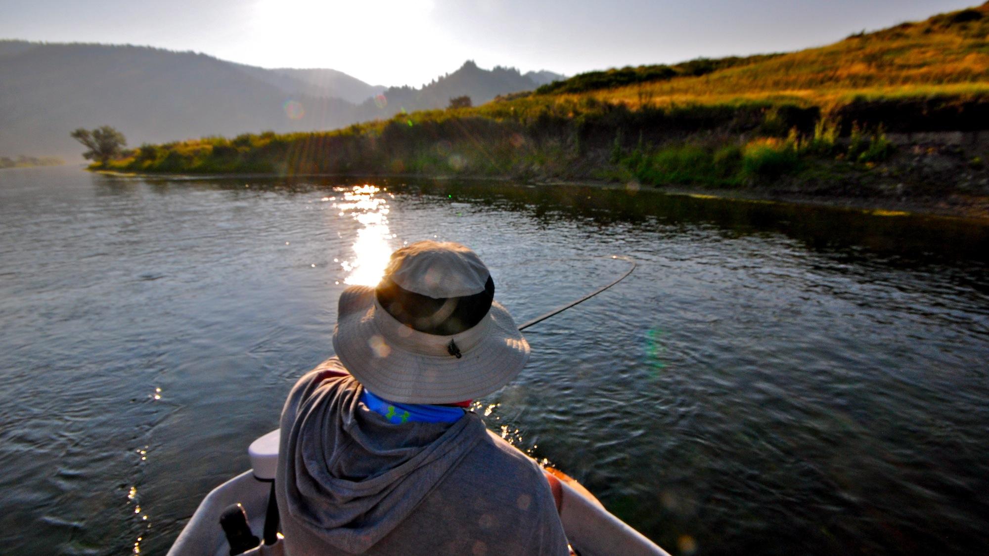Missouri river montana fishing report 7 headhunters for Montana fishing report