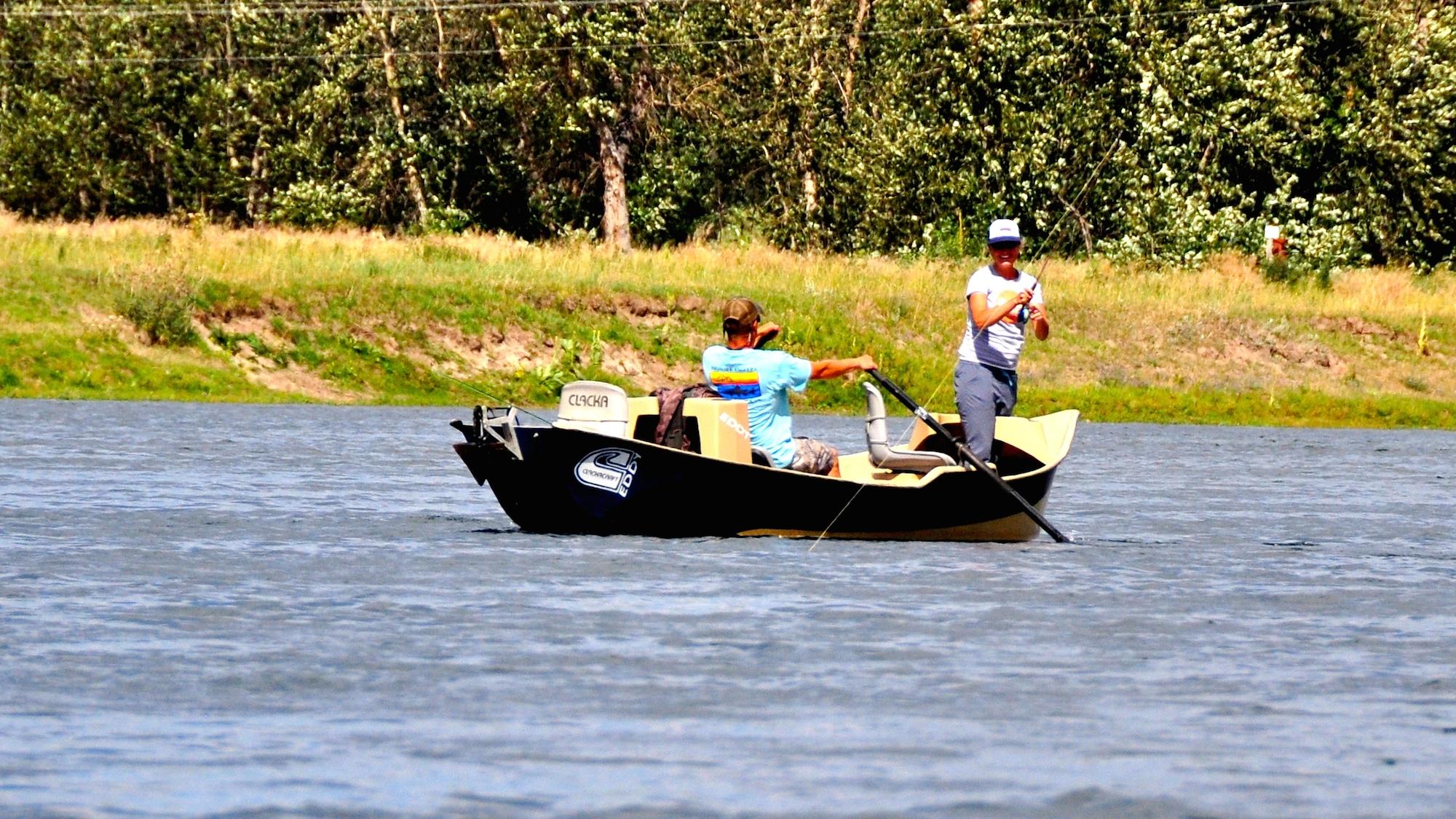 Monday morning missouri river fishing report headhunters for Missouri fishing report