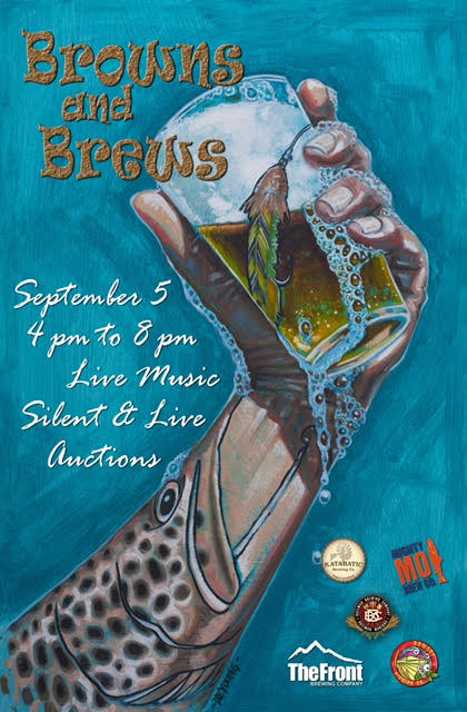Browns and Brews Beer Festival in Craig MT Saturday September 5th
