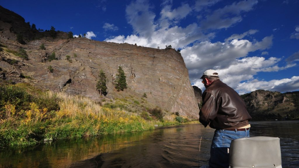 Missouri River Fall Fly Fishing