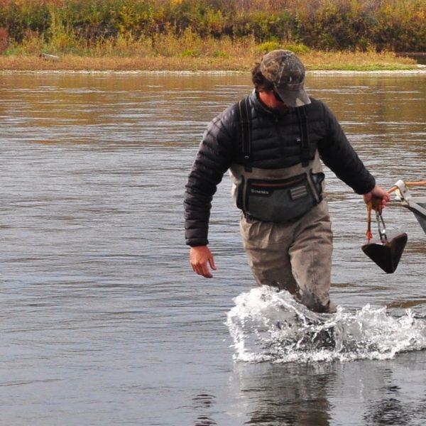 Missouri River Fall Fishing Images