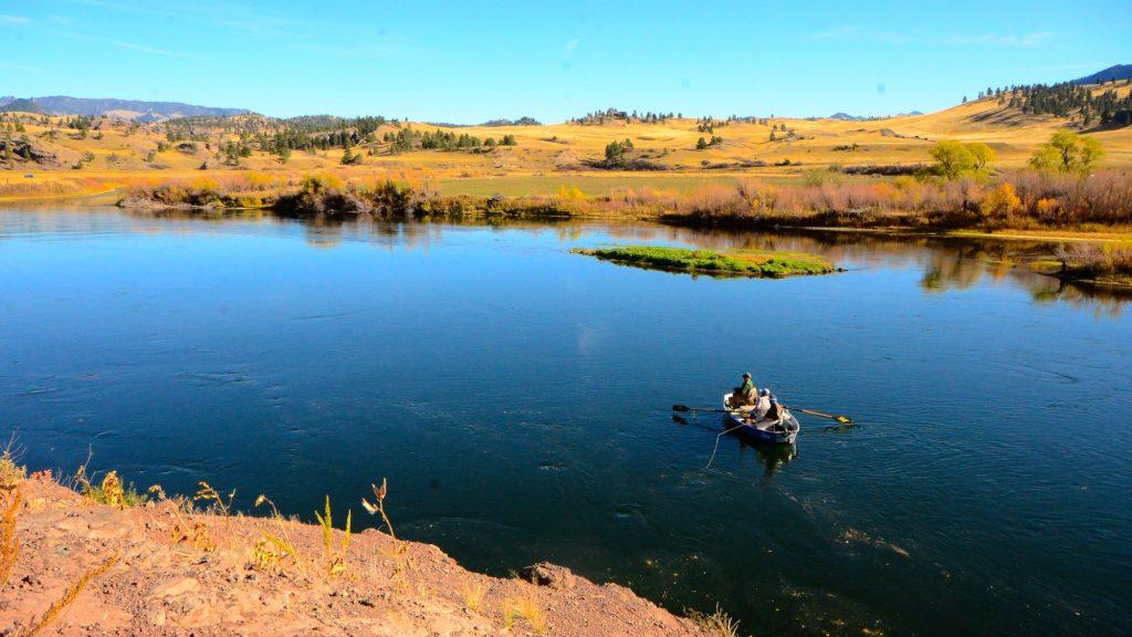 Missouri River Beauty Fly Fishing Montana