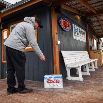 Reward for Stolen Headhunters Porch YETI Cooler