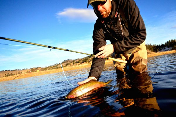 Missouri River Winter Fishing Report 11.8.15