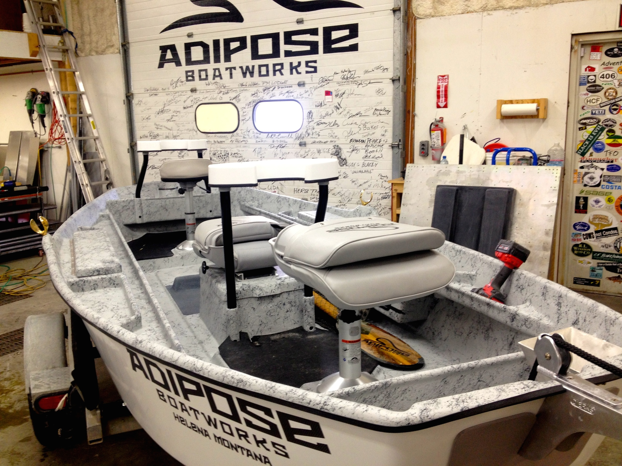 Adipose Flow New Boat Smell for the New Year