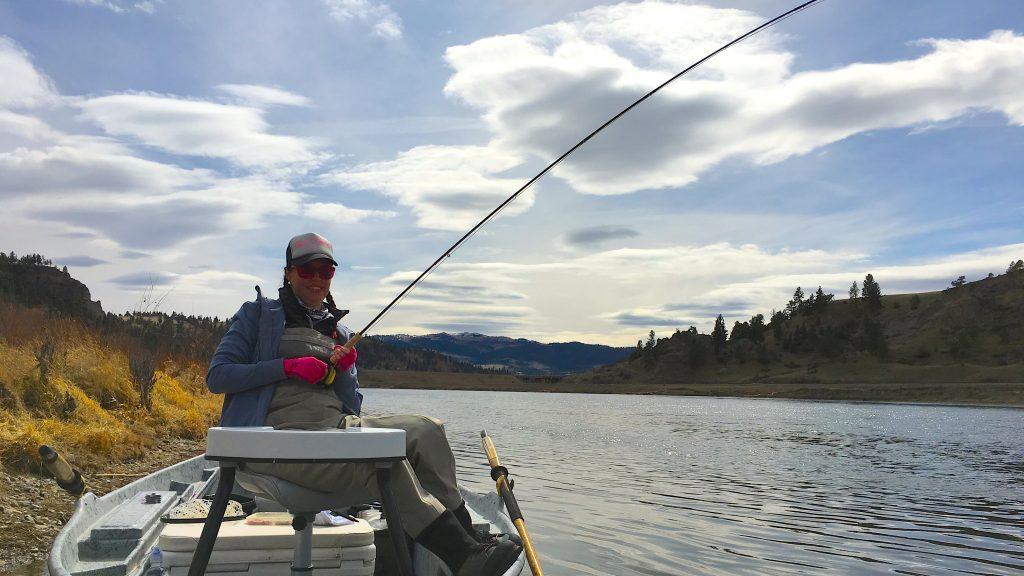 Monday morning montana fishing report headhunters fly shop for Montana fly fishing report