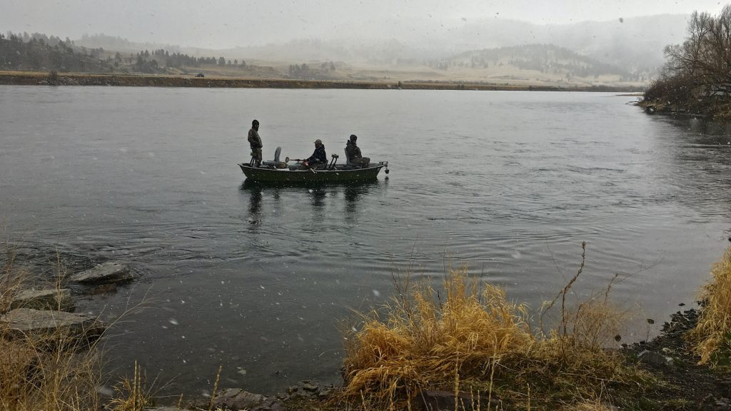Easter weekend missouri river fishing report headhunters for Missouri river fishing