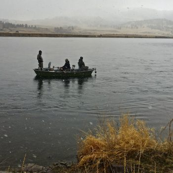 Easter Weekend Missouri River Fishing Report