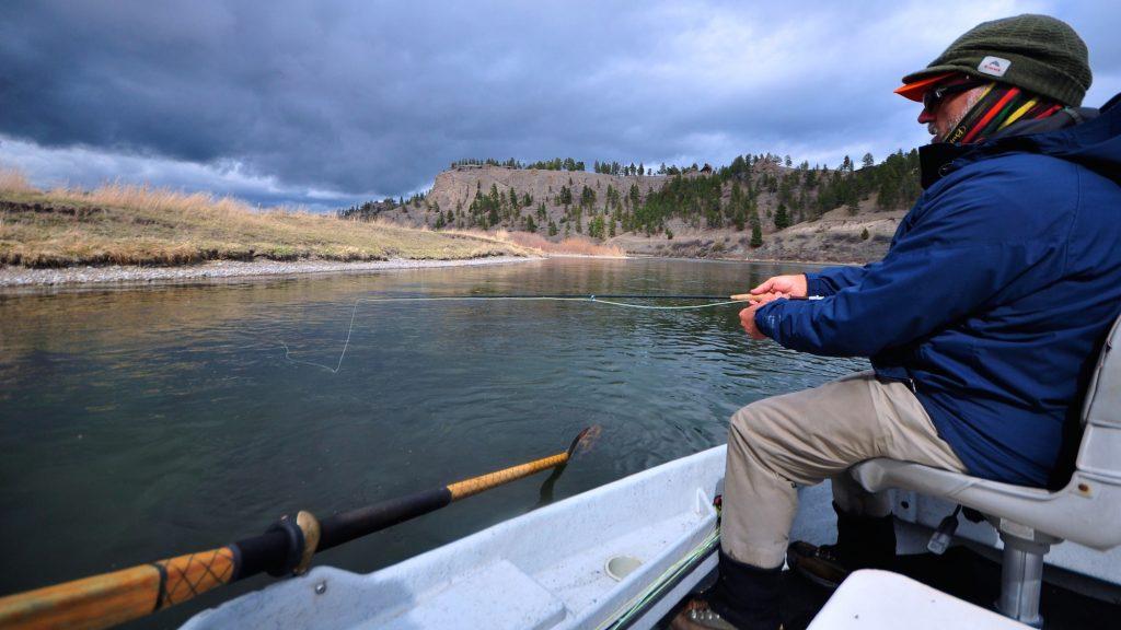 Missouri river montana march 12th fishing report for Montana fly fishing report