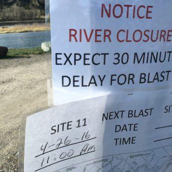 April 26th River Closure