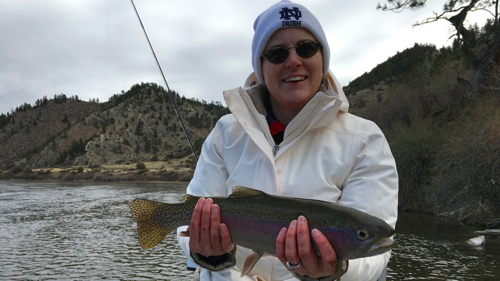 Missouri river fishing report weekend update headhunters for Missouri river fishing