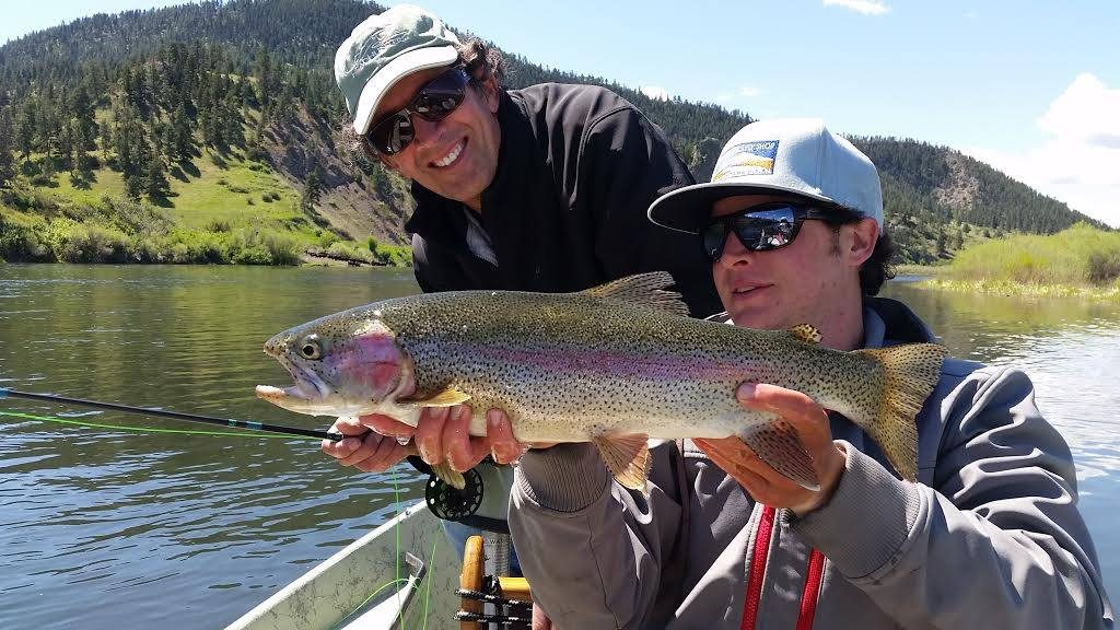 Missouri river fishing report holding steady for Big fish dearborn