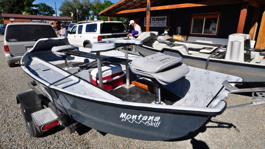 New Boat Smell Hyde Montana Skiff