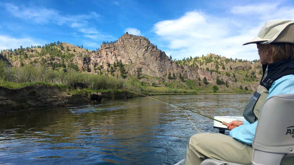 Headhunters Missouri River Weekend Fishing Report