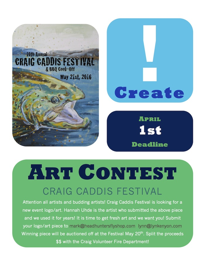 Craig Caddis Festival Art Contest