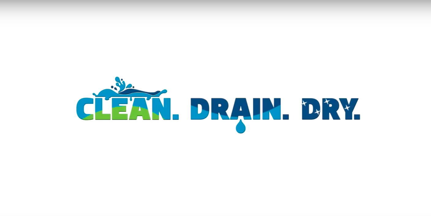 Clean. Drain. Dry.