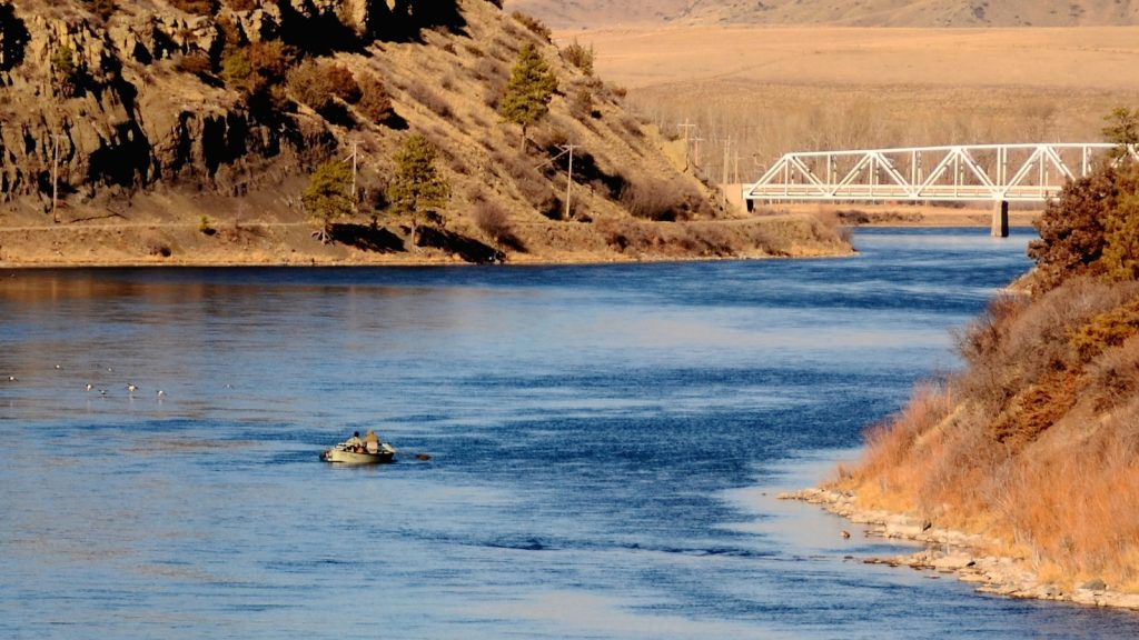 Missouri River Tax Day Fishing Report