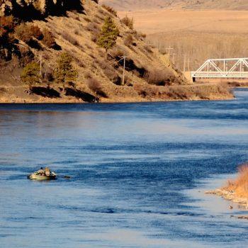 Missouri River Tax Day Fishing Report